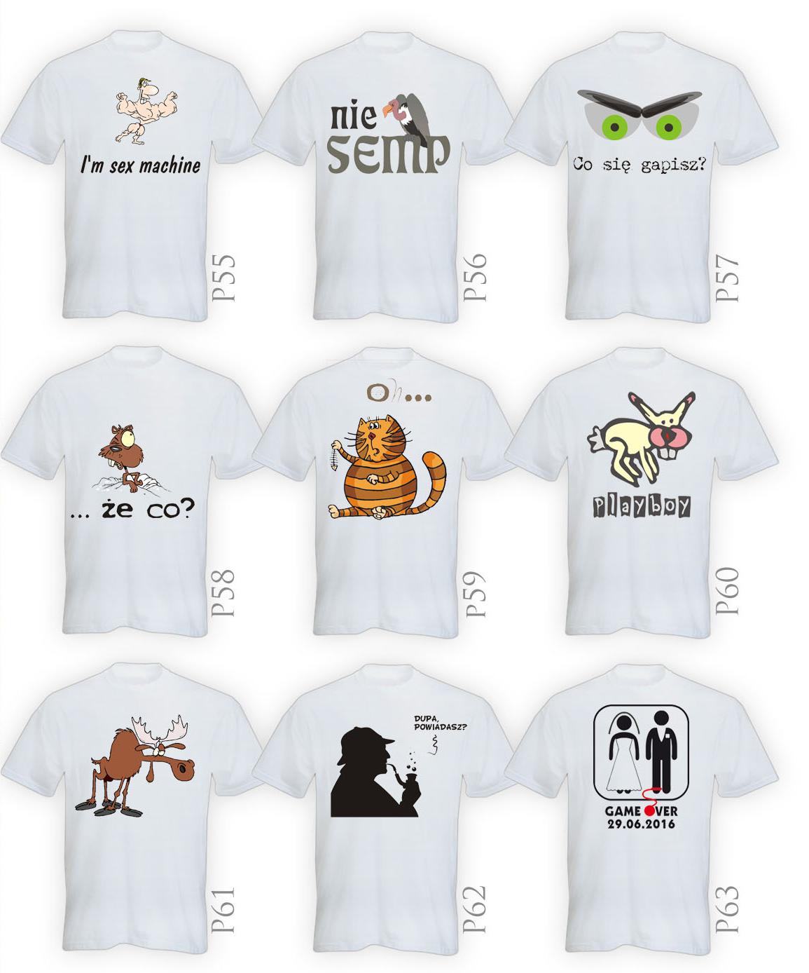 Projekty koszulek wzory dzień ojca matki wieczór kawalerski panieński
